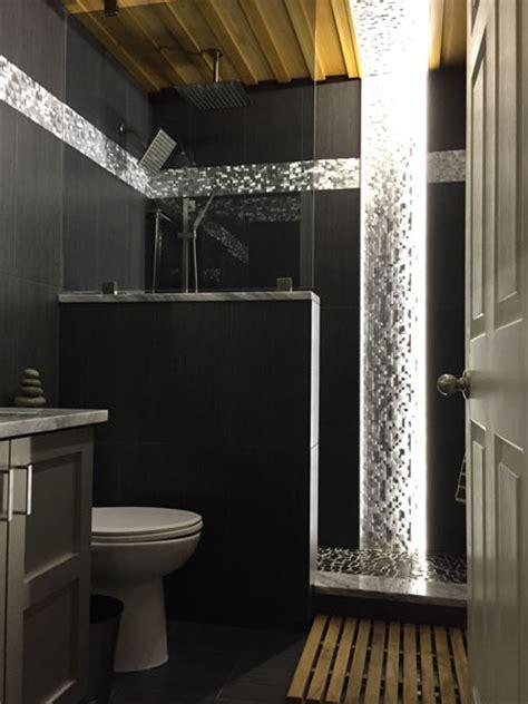 led bathroom lighting using 12vdc warm white led strip