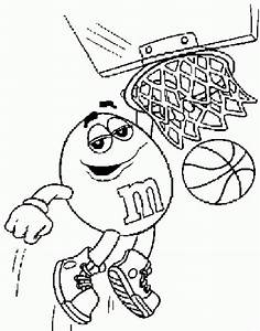 M and M Coloring Pages - ColoringPagesABC.com