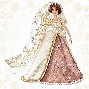 Rapunzel Online Shop : disney store tangled ever after rapunzel doll wedding dress limited edition new ebay ~ Watch28wear.com Haus und Dekorationen