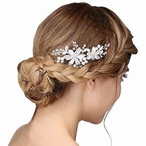 Peigne Cheveux Mariage : bijoux cheveux mariage perle ~ Preciouscoupons.com Idées de Décoration