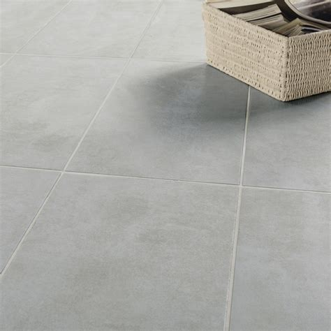 carrelage sol et mur gris effet béton factory l 30 x l 60