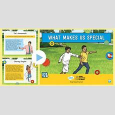 * New * Ks2 Bbc Children In Need What Makes Us Special Pshce Powerpoint