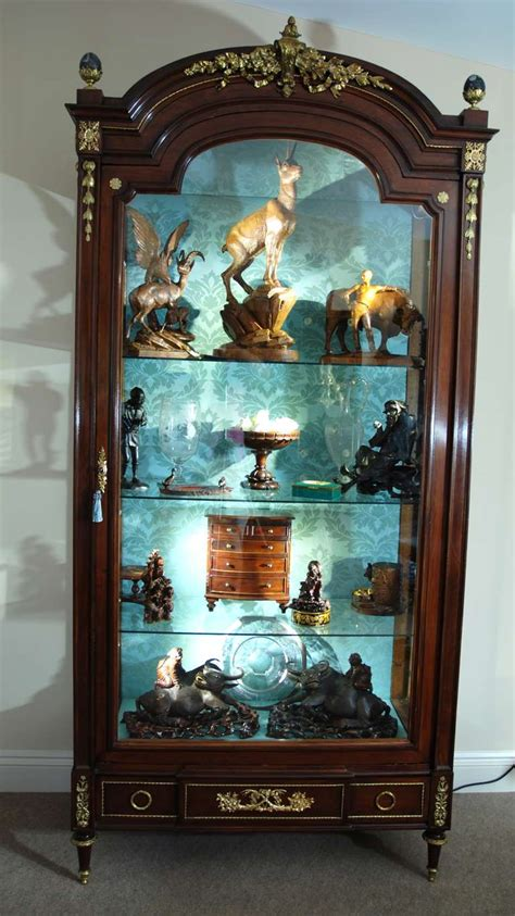 21st century cabinets reviews large 19th century french mahogany display cabinet at 1stdibs