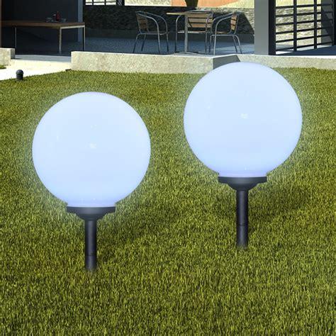 eclairage exterieur boule