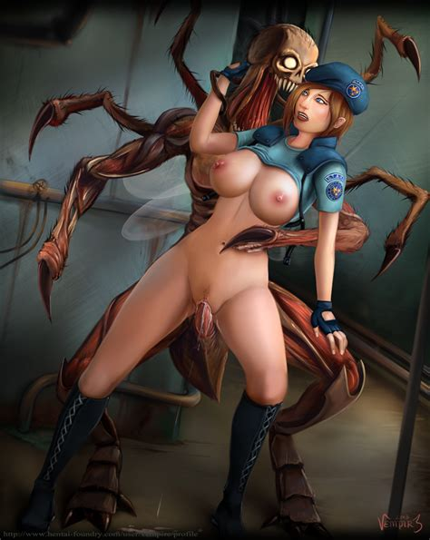 Jill Valentine And The Chimera By Vempire Hentai Foundry