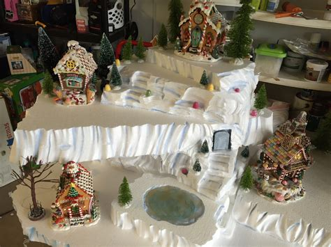 copeland christmas blog making  mini christmas village