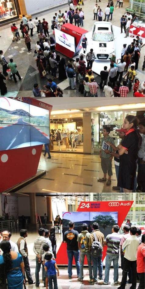 audi  mall promotionmumbai commercial space design