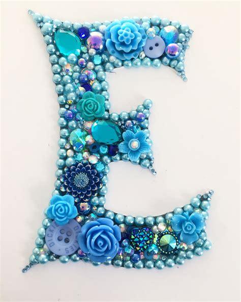 bespoke initials   order super sparkly prettiness