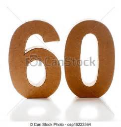 Number 60 Clip Art