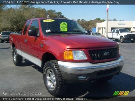 toreador red metallic  ford  xlt heritage