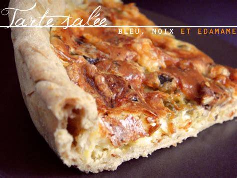 recette tarte sal 233 e au bleu noix edamame p 226 te bris 233 e maison 750g