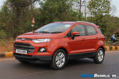 Ford Shocks Renault With Ecosport Price In India