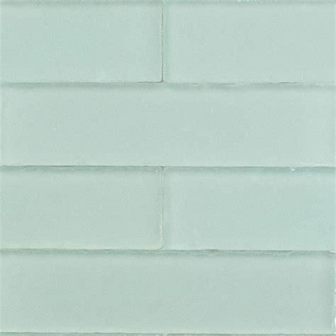 home depot subway tile splashback tile aqua beached 9 pieces 2 in x