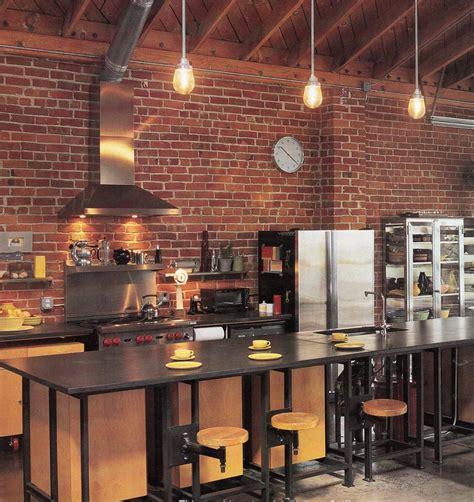 cuisine faite maison barbecue fait maison brique 12 cuisine bois clair avec