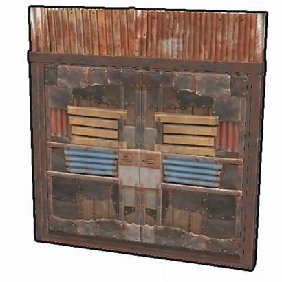 Rust Sheet Door Metal Double Wiki Fandom