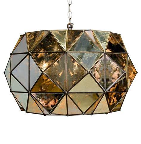 Antique Mirror Chandelier by Roslin Regency Antique Mirror Pendant Chandelier