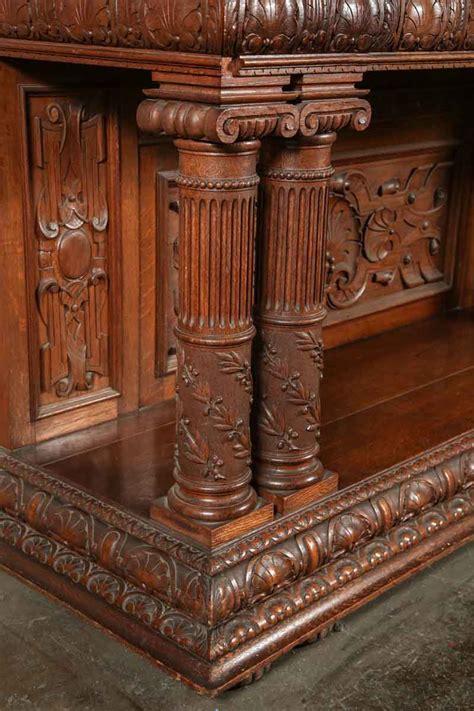 italian renaissance carved sideboard olde good