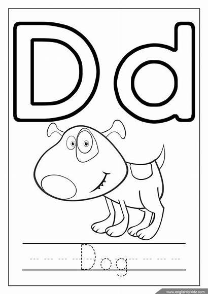 Coloring Pages Alphabet Worksheets Printable Letter Sheet