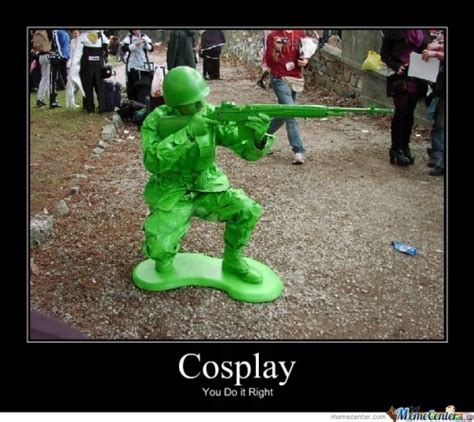 Cosplay Meme - toy soldier cosplay cosplay pinterest