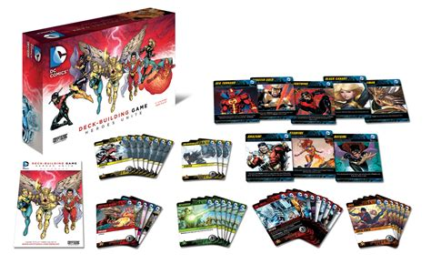 Dc Deck Building Expansion 2 by Dc Comics Deck Building The Classic Gamer