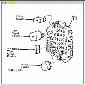 Turn Signal Flasher  Electrical Problem 6 Cyl Four Wheel Drive