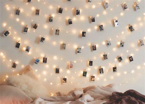 Fotos Aufhängen Wand by Foto Lichterkette Auf Dem