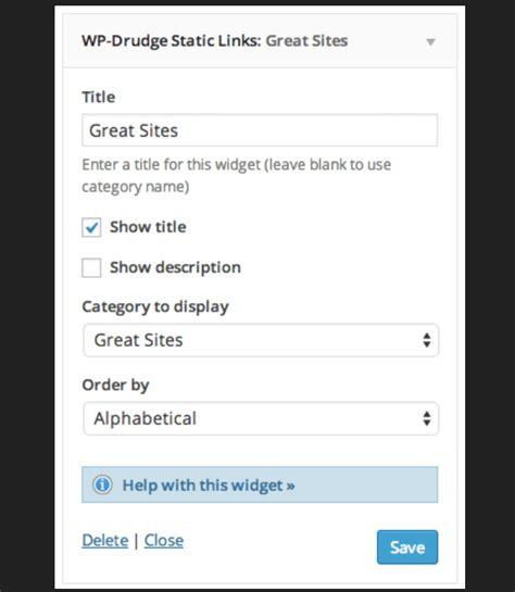 How To Create A Drudge Report Clone Using Wpdrudge  Wp Mayor