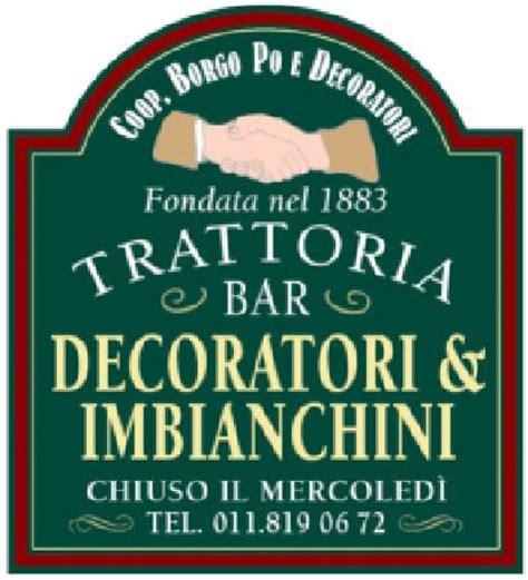 Gli Imbianchini Torino by Trattoria Decoratori E Imbianchini Torino Ristorante