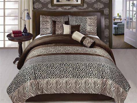 leopard print comforter set animal print bedding tktb