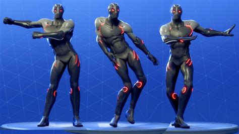 Fortnite Omega Performs All Dances Season 1-4