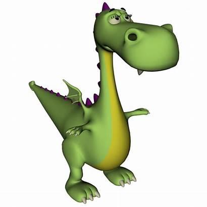 Dragon Cartoon Dinosaur Clipart Dragons Domain Getdrawings