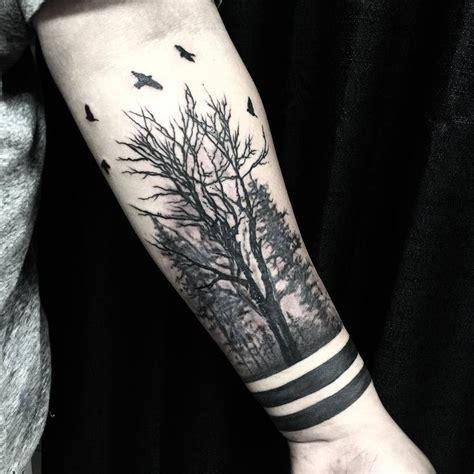 creative forest tattoo designs  ideas tattooadore