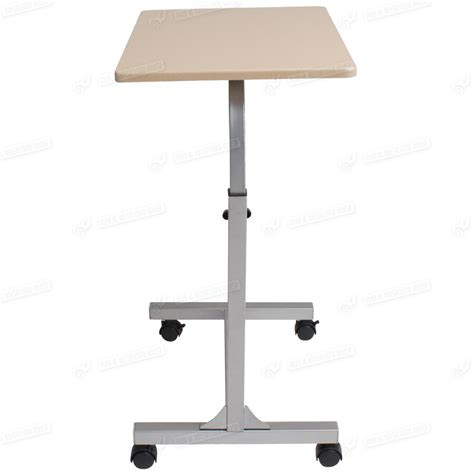 computer desk on wheels computer table bed work station laptop stand wheels black
