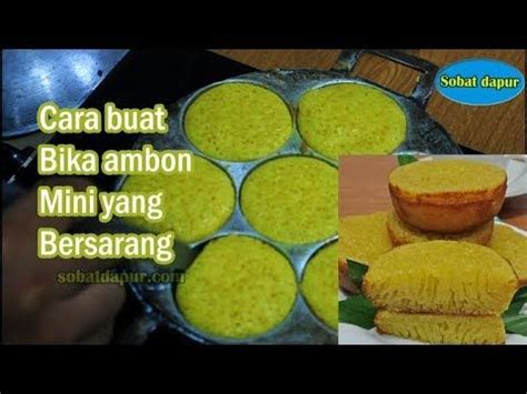 We would like to show you a description here but the site won't allow us. Resep bika ambon mini bersarang irit telur enak - YouTube in 2020 | Resep cake, Food, Snacks