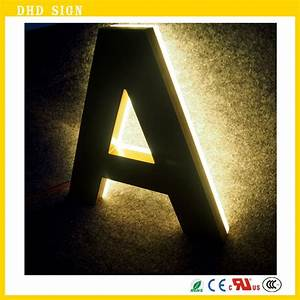 custom outdoor led illuminated signs letters lights With outdoor letter lights