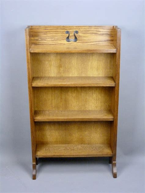 Arts And Crafts Bookcase by Arts And Crafts Oak Bookcase C1910 Antiques Atlas