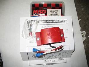 Fs  Msd 6a  U0026 Tach Adapter
