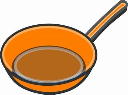 Pan Cooking Clip Clipart Copper Pans Cartoon