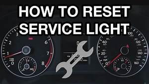 How To Reset Vw Passat Service Light  2012-2016