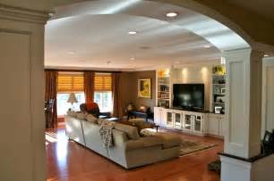 kitchen addition ideas colonial kitchen and great room addition traditional family room boston by michael hally