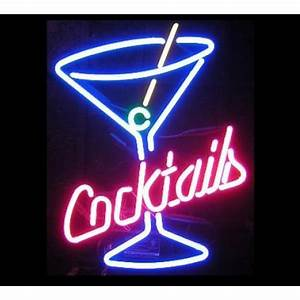 Cocktail Neon Sign FREE SHIPPING