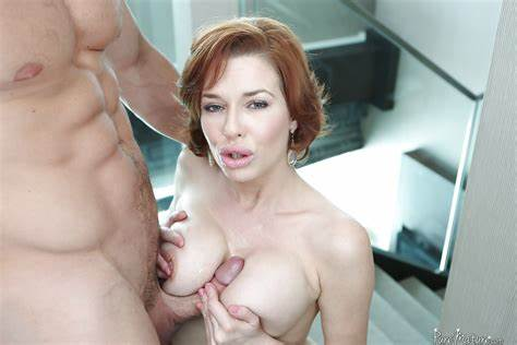 Redhead Is Giving Perfect Titjobs