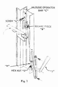 Installation Instructions For Anderson Jalousie Windows