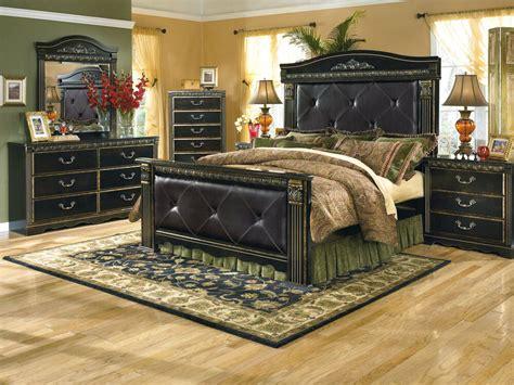 king poster bedroom sets furniture b175 coal creek traditional king 15751 | s l1000