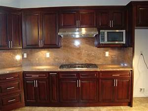 dark cabinets backsplash decor With kitchen colors with white cabinets with wooden flag wall art