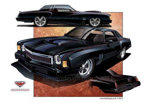 Custom 1974 Monte Carlo Ss. Vierstradesign.com © 2012