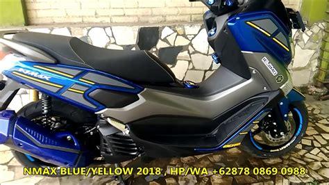 Nmax 2018 Grey by Modifikasi Yamaha Nmax Design By Iejimo Motor Blue 2018