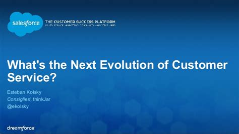 What's The Next Evolution Of Customer Service  #df2014 Deck