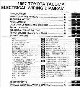 2015 Toyota Tacoma Wiring Manual