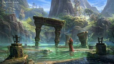 Sword Art Online Scenery Wallpapers The Elder Scrolls Online